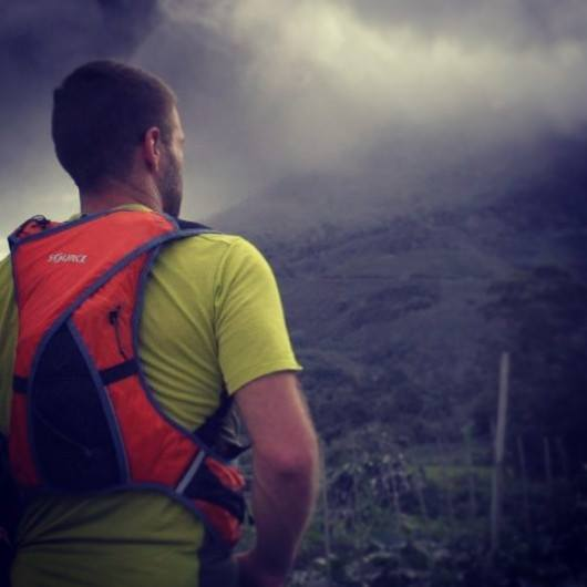 Richard Bowles Escapes Sumatran Volcano Eruption